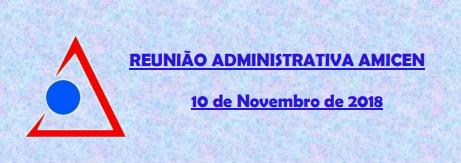 Programação da Reunião Administrativa Amicen